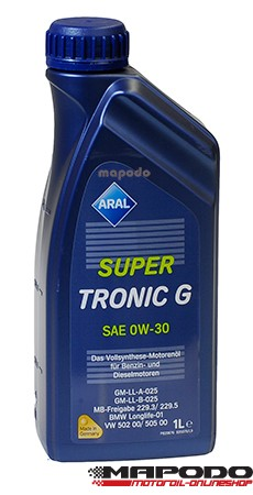 ARSAL S.Tronic G, GM/Opel, MB, BMW, 0W-30 | 1 L