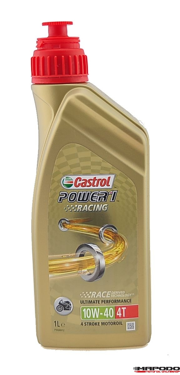 Castrol POWER1 Racing 4T, 10W-40 | 1 ltr.