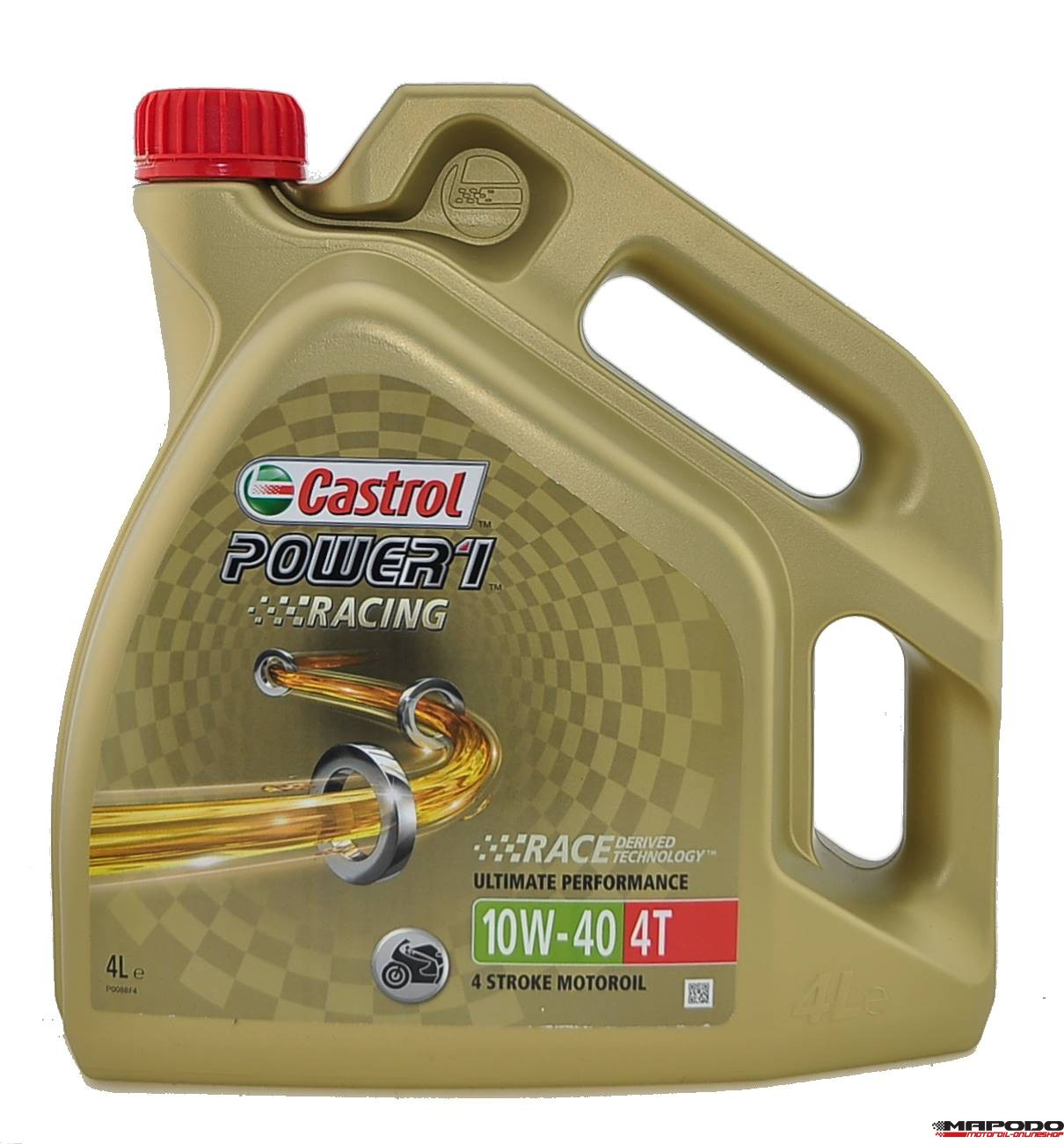 Castrol POWER1 Racing 4T, 10W-40 | 4 ltr.