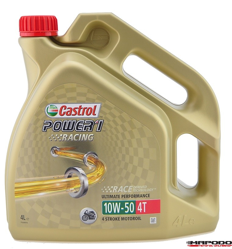 Castrol Power 1 Racing 10W-50 4T 4L