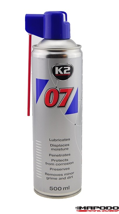 K2 07 Multifunktionsöl 500ml