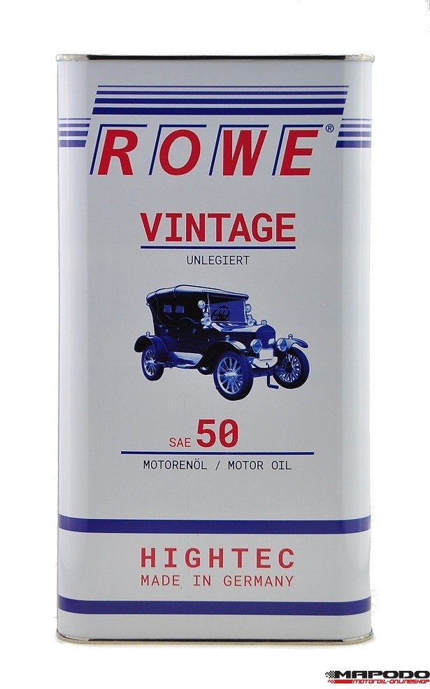 Rowe Hightec Vintage SAE 50 Unlegiert 5L