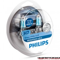 Philips H7 WhiteVision ultra 2er-Set (12972WVUSM)