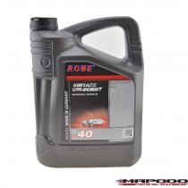 Rowe Hightec Vintage SAE 40, unlegiert | 5 ltr.