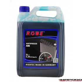 ROWE Hightec ANTIFREEZE AN Konzentrat (Blau) | 5 L