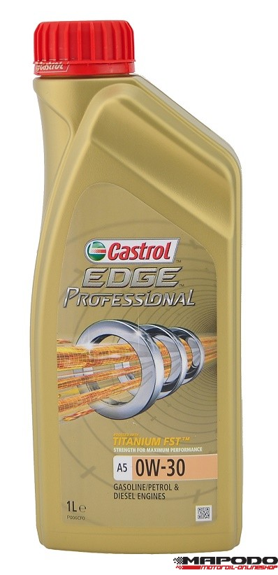 castrol edge titanium fst professional a5 0w 30 volvo ford 6x1 ltr. Black Bedroom Furniture Sets. Home Design Ideas