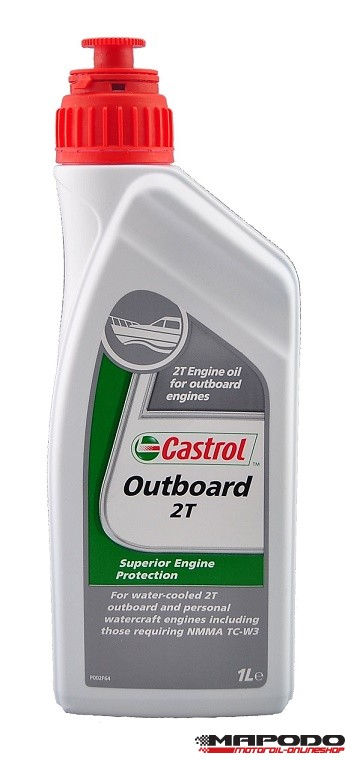Castrol Outboard 2T 1 ltr