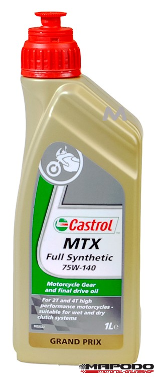 castrol mtx full synth 75w 140 motorcycle gearbox oil 1. Black Bedroom Furniture Sets. Home Design Ideas