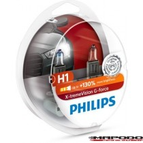 Philips H1 X-tremeVision G-force 2er-Set