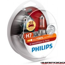 Philips H7 X-tremeVision G-force 2er-Set